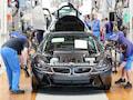 Die Region Leipzig will mit Tri-5G bei der Einführung von 5G vorangehen. Davon würde auch das BMW-Werk in Leipzig (Archivbild) profitieren
