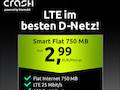 Günstige Crash-Tarife im Telekom-Netz