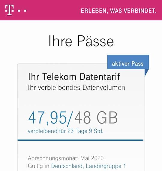 Pass De Telekom