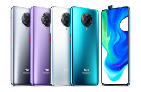Das Xiaomi Poco F2Pro in den verfügbaren Farbvarianten