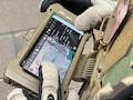 Das Samsung Galaxy S20 Tactical Edition mit einer Missions-App