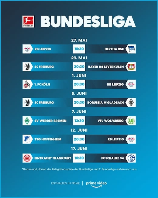 Bundesliga bei Amazon