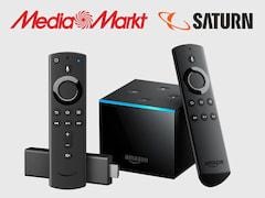 Price check: Amazon Fire TV Stick (4K) and Fire TV Cube at MediaMarkt / Saturn