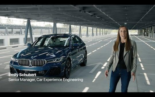 Virtual car key for a 5-series BMW