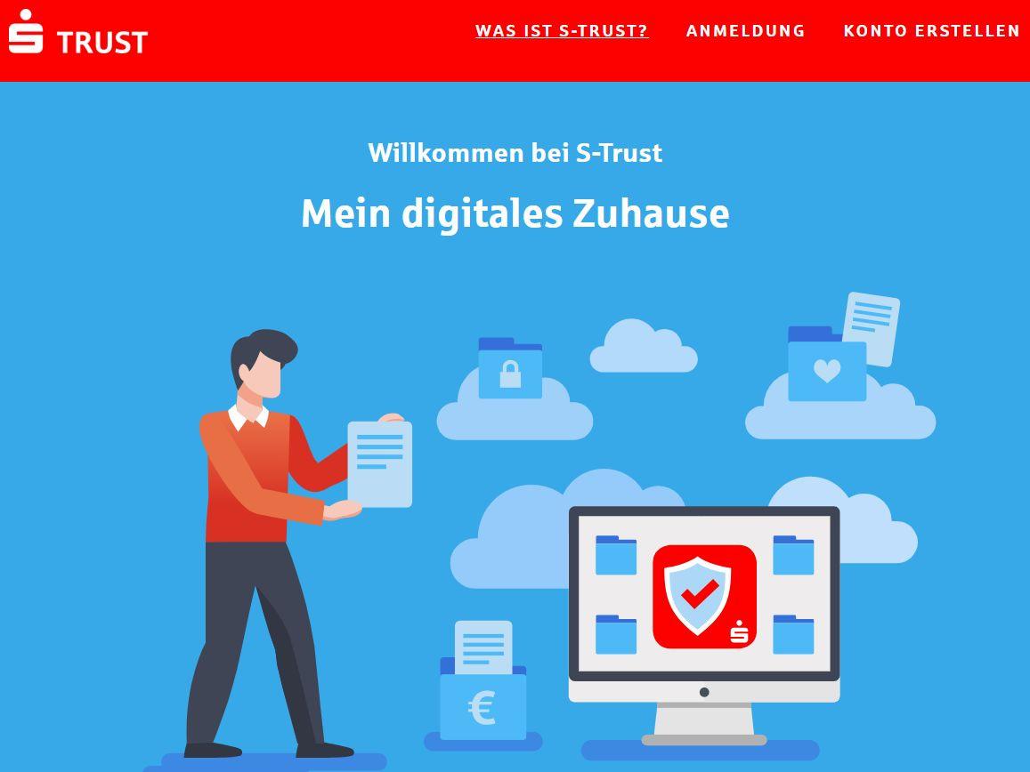S Trust Cloud Dienst der Sparkasse im ersten Vorab Test ...