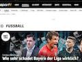 Mehr Fußball bei Sport1