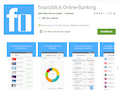 Finanz-Apps wie Finanzblick (unser Bild), FinanzGuru oder Outbank gibts auch in der Huawei AppGallery