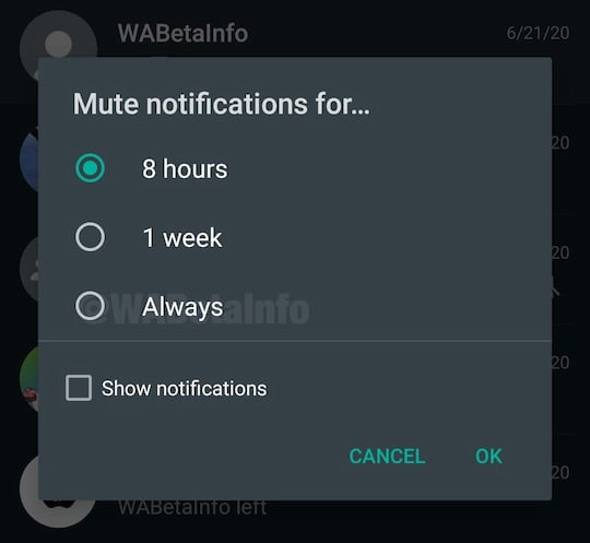 Whatsapp Status Stumm