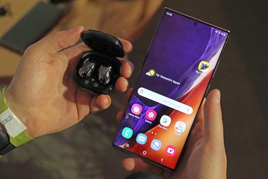 Galaxy Buds 2 mit 8 GB Speicher & Geräuschunterdrückung