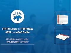 Labor-Update für Kabel-Router