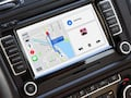 Google Maps im CarPlay-Dashboard