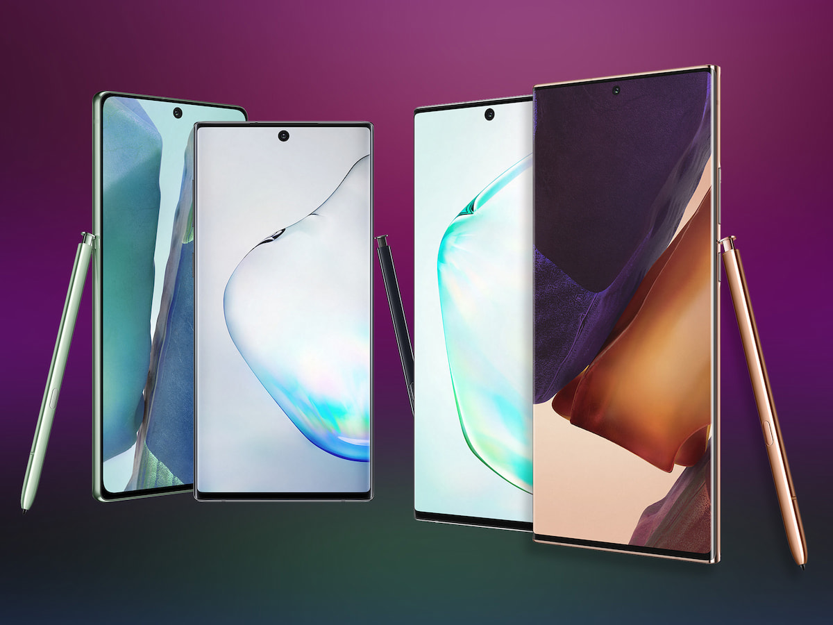 Samsung Galaxy Note 20 und Note 20 im Serien Vergleich   teltarif ...