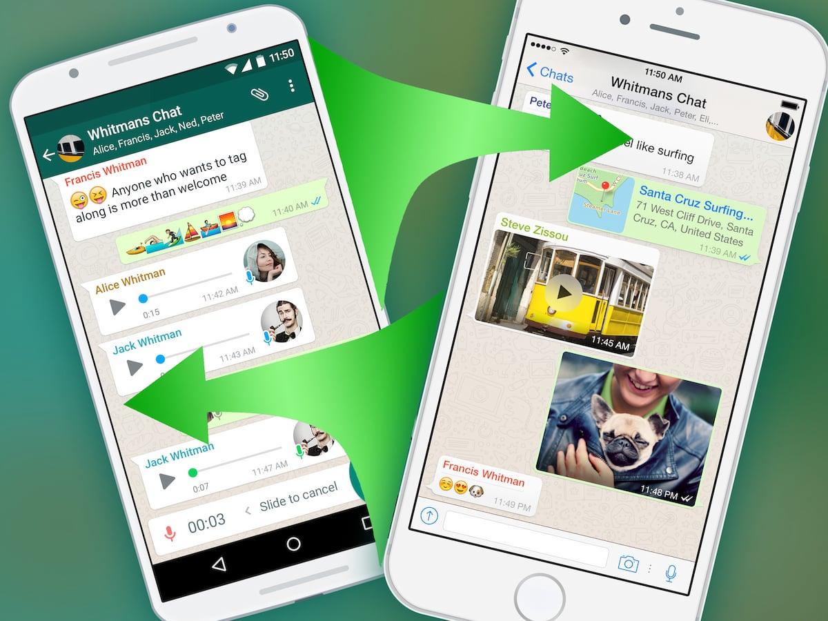 WhatsApp Chats parallel auf iPhone und Android   teltarif.de News