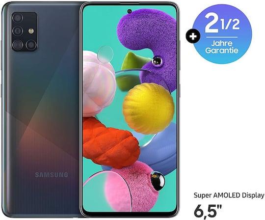 Nur heute: Galaxy A51 mit 30 Monaten Garantie
