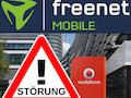 Vodafone-Netzstörung bei freenet Mobile und die Folgen