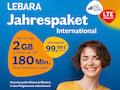 Lebara Prepaid-Jahrespaket