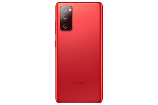 "Samsung Galaxy S20 FE in ""Cloud Red"""
