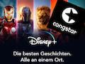 Disney+ gibt es jetzt als Zubuch-Option zu ausgewählten congstar-Tarifen