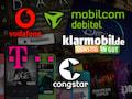 Übersicht: Mobilfunktarif und Streaming-Dienst im Bundle