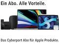 Cyberport für ein Abo für Apple-Hardware ein