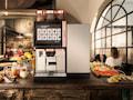 Wenn Sie auf eine moderne Kaffeemaschine in der Gastronomie treffen, könnte eine SIM-Karte von Swisscom enthalten sein