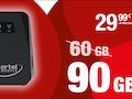 Ortel Mobile: DSL-Ersatztarif jetzt mit 90 GB