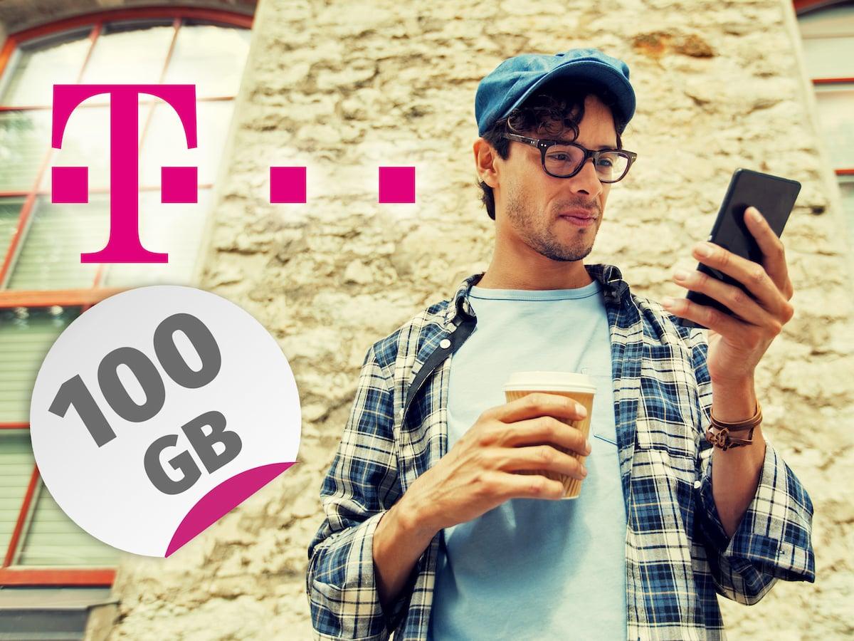 100 Gb Datenvolumen