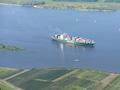 Ein Funkloch, im Sinne des Wortes: Wichtige Wasserstraßen wie die Elbe sind nicht durchgehend mit Mobilfunk versorgt.