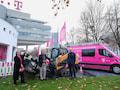 Telekom-Vorstände Claudia Nemat, Srini Gopalan und CEO Tim Höttges