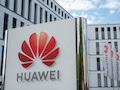 Das Hauptquartier von Huawei Deutschland in Düsseldorf.