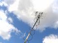 Messantenne der Bundesnetzagentur um Funkstörern auf die Schliche zu kommen.