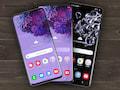 Weiterhin Top-Geräte: Galaxy S20, S20+ und S20 Ultra (v.l.)