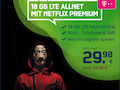 mobilcom-debitel-Tarif im Telekom-Netz mit Netflix Premium