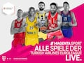 Basketball bei MagentaSport