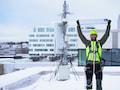 Die neue 5G-Antennenfamilie von Ericsson wiegt nur noch 20Kilogramm