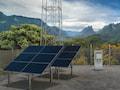 Wenig Aufwand, viel Leistung: Solarzellen versorgen eine Basisstation der Telekom mit Technik von Ericsson