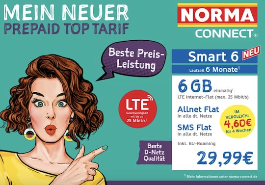 "Norma Connect startet mit ""Smart 6"""