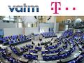 Im Bundestag laufen die Anhörungen zum neuen Telekommunikationsgesetz.