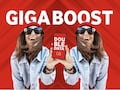 GigaBoost-Aktion von Vodafone