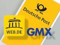 Wenn ein Brief elektronisch erstellt wurde, kann er bei GMX und web.de als E-Mail vorab empfangen werden.