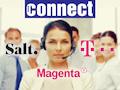 Im großen Hotline Vergleichstest der Fachzeitschrift Connect gewannen Salt (Schweiz), Magenta Telekom (Österreich) und Deutsche Telekom (Deutschland)