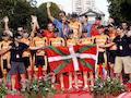 """Radsportfreunde kennen """"Euskaltel Euskadi"""", das Radsport-Team der gleichnamigen (baskischen) Telefongesellschaft. Die steht jetzt zum Verkauf"""