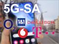 Nicht alle deutschen Netze bieten schon 5G-SA an. Einige haben schon feste Pläne andere hüllen sich in beredtes Schweigen.