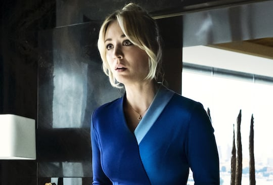 "Kaley Cuoco als Flugbegleiterin Cassie Bowden im HBO Max-Original ""The Flight Attendant"""