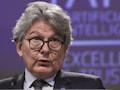 Thierry Breton, EU-Kommissar für den Binnenmarkt, stellte einen EU-Ansatz für künstliche Intelligenz vor