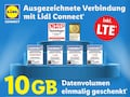 Daten-Aktion bei Lidl Connect