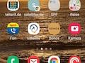 FRITZ!App Fon im Menü des Samsung Galaxy S20 Ultra