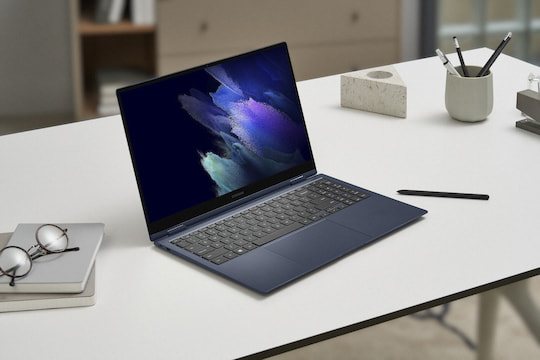 Samsung Galaxy Book Pro360 im Laptop-Format