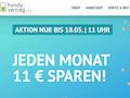 Aktion bei handyvertrag.de