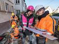 Die Telekom will ihren Beitrag leisten, damit bis 2030 bundesweit Glasfaser bis ins Haus verlegt ist.